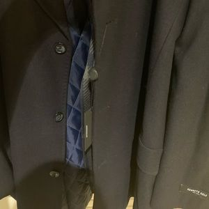 Kenneth Cole Jackets & Coats - Kenneth Cole Earl Short Coat with Removable Scarf